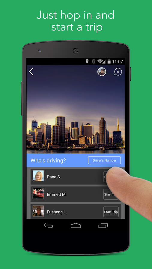Carma Carpooling - screenshot