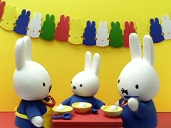Miffy and the Birthday Cake/Miffy Counts Leaves