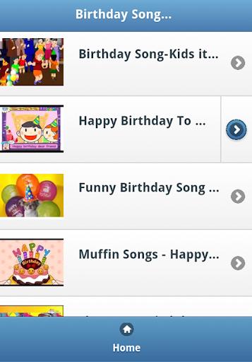 Birthday Kids Songs