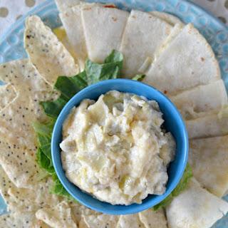 Creamy Artichoke Dip Quesadillas