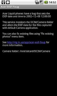 EXIF Fixup- screenshot thumbnail