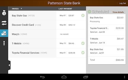 Patterson State Bank Mobile Screenshot 19