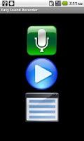 Screenshot of Easy Sound Recorder