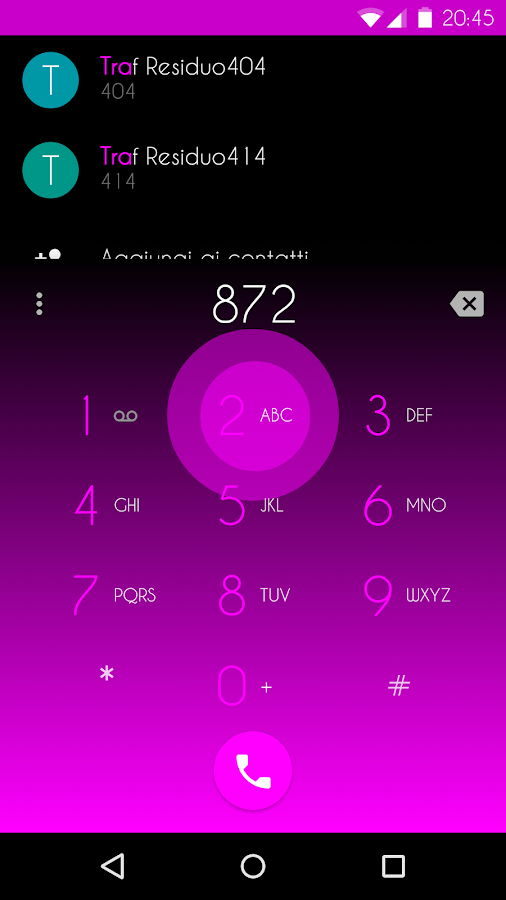 Magenta Shade - CM12 Theme - screenshot