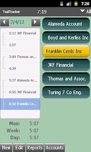 TealTracker Time and Expense- screenshot thumbnail