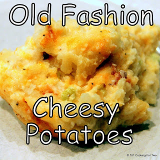 Old Fashion Cheesy Potato Casserole.