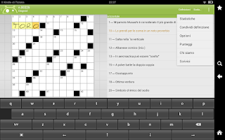 Screenshot of Crucidroid Free - Crosswords