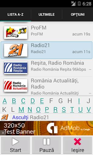 Radiouri din Romania online