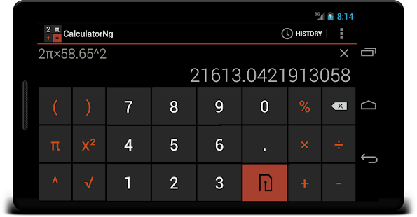 CalculatorNg - Calculator Screenshot 4