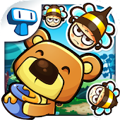 Honey Battle - Hungry Bears vs Crazy Bees!