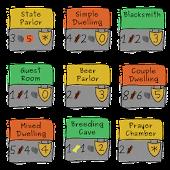 Caverna Scoring Pad