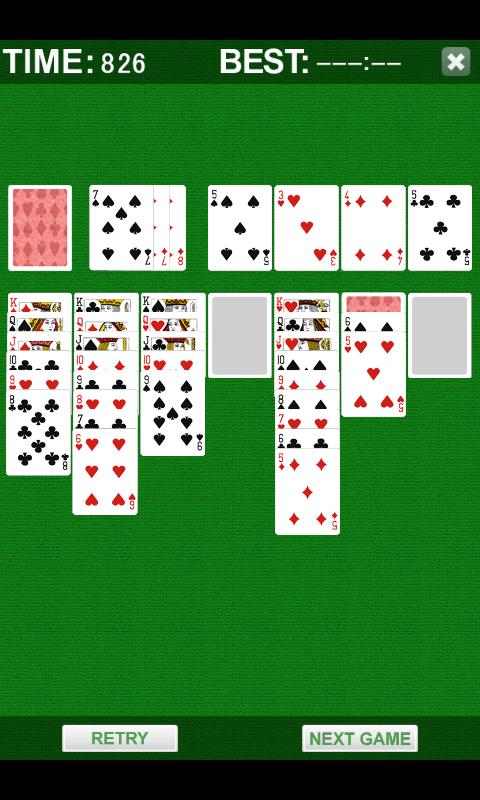 Solitaire Plus- screenshot