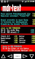 Screenshot of 3SAT/MDR Teletext
