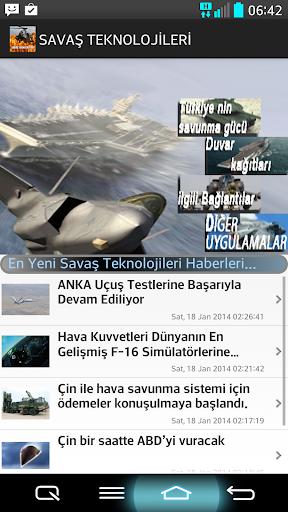 Savaş Teknolojileri