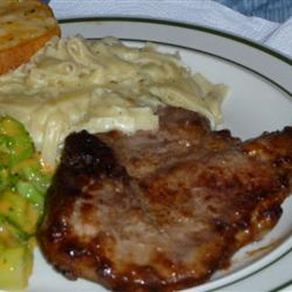 Onion Pan-Fried Pork Chops