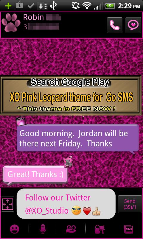 Leopard theme for GO Launcher- screenshot