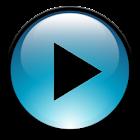 Blue Media Player Control icon