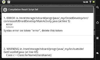 Screenshot of DroidDevelop