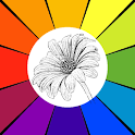 Sketch Coloring Book: Flowers icon