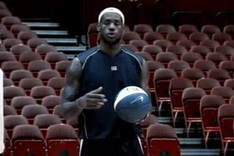 LeBron James Teaching - screenshot
