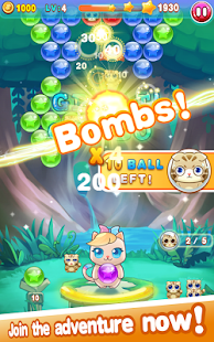 3 Bubble Cat 2 App screenshot