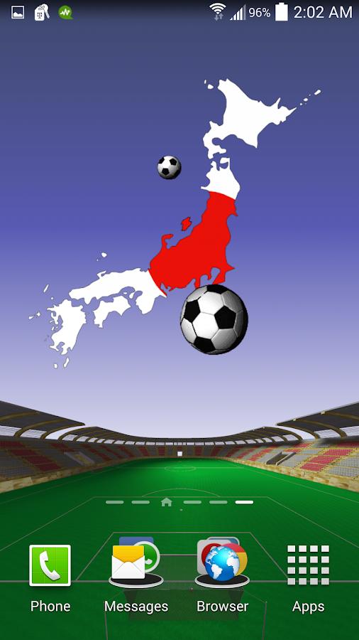 Japan Football Wallpaper- screenshot
