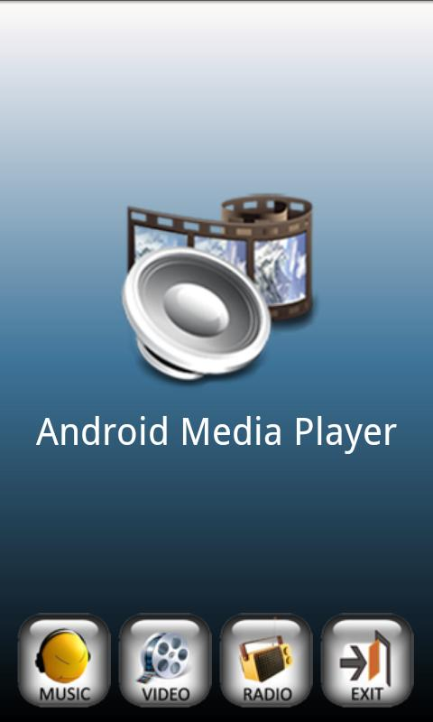 Media Player for Android: captura de pantalla