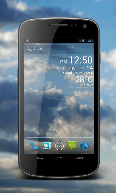 Weather Clock Live Screenshot 1