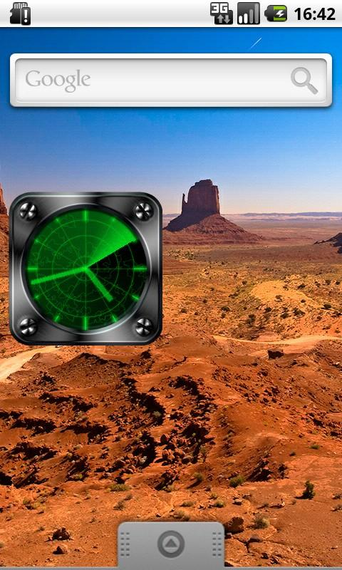Radar Clock- screenshot