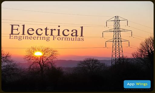 Electrical Engg Formulas