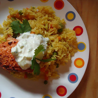Baked Tandoori Chicken & Easy Peasy Biryani