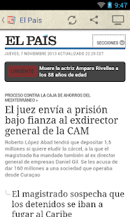 Prensa de España - screenshot thumbnail