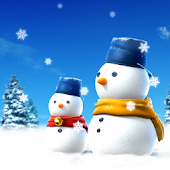 SNOWMAN LiveWallpaper