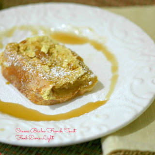 Lightened Creme Brulee French Toast