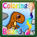 Coloring Board Dinosaurus HD icon