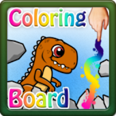 Coloring Board Dinosaurus HD