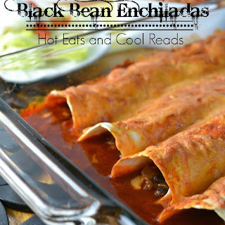 Shredded Beef and Black Bean Enchiladas.