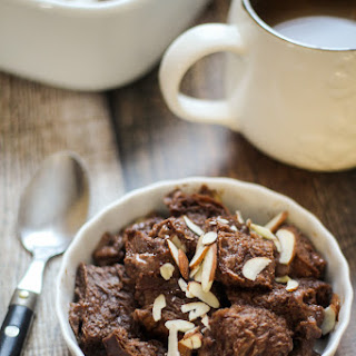 Costa Rican Chocolate Bread Pudding (Capirotada).