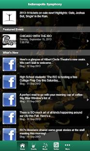 Indianapolis Symphony - screenshot thumbnail