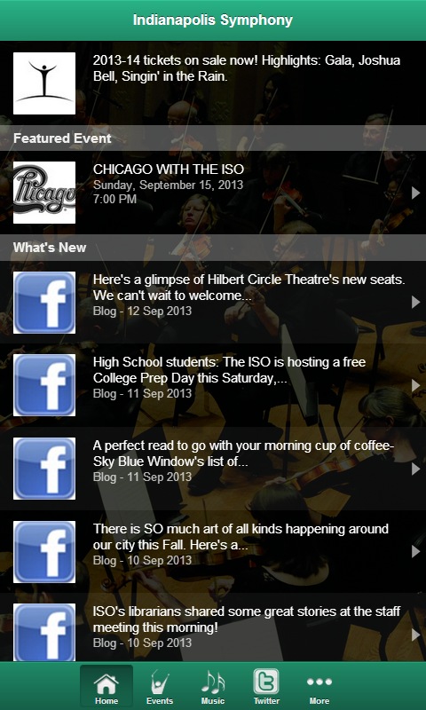 Indianapolis Symphony - screenshot