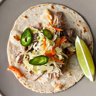 Citrus Pulled Pork Tacos.
