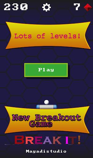 Break it - Retro Breakout.