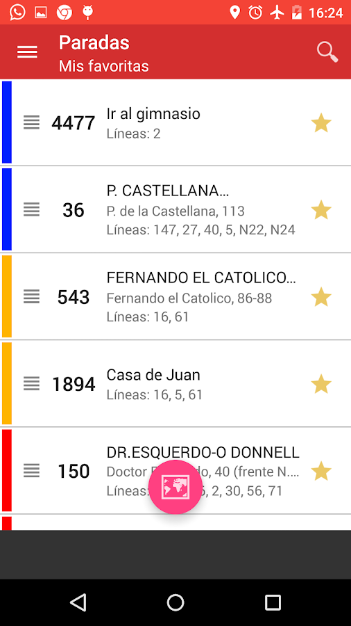 Bus Madrid - screenshot