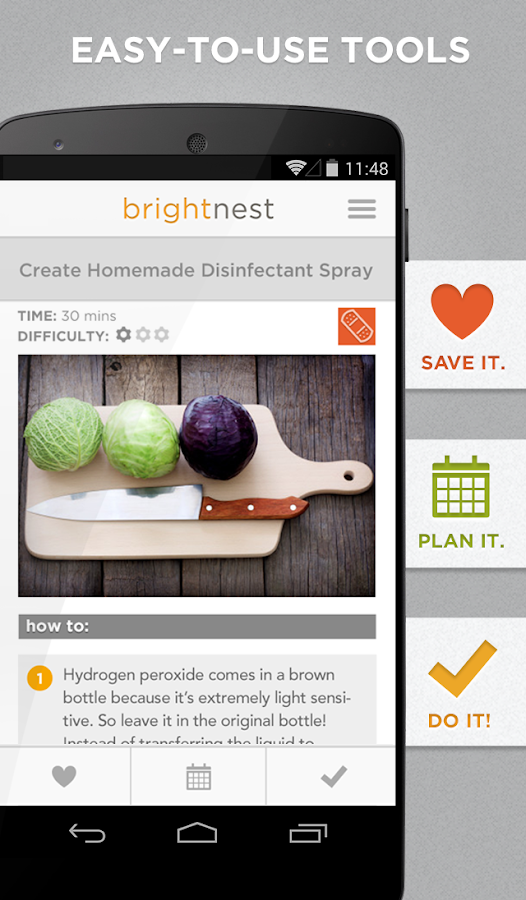 BrightNest – Home Tips & Ideas- screenshot