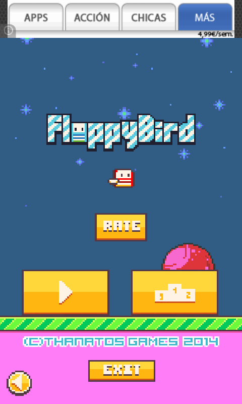 Floppy Bird - screenshot