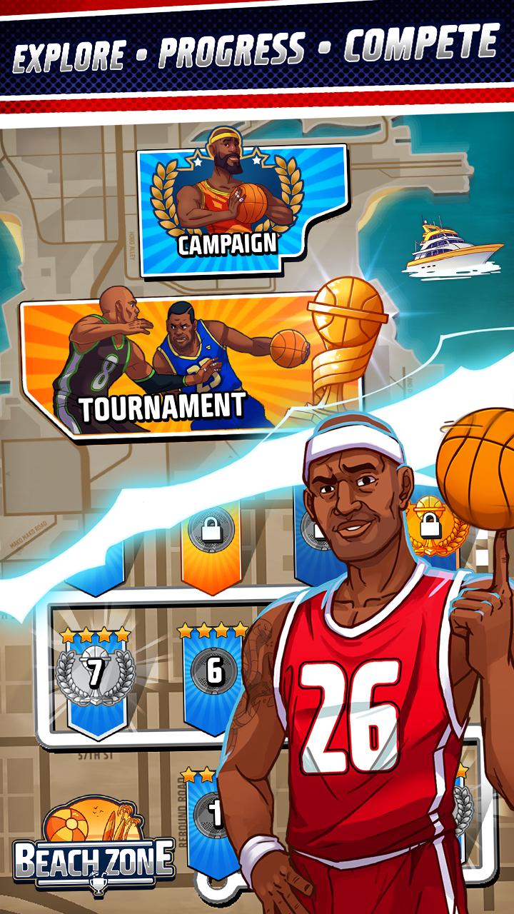 Rival Stars Basketball screenshot #6