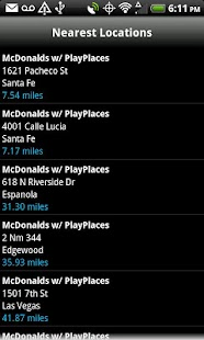 PlayPlaces - McDonalds & More - screenshot thumbnail