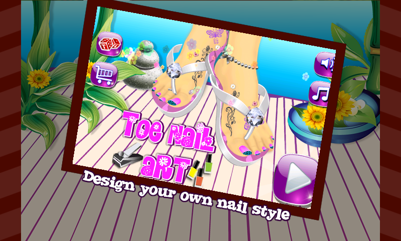 Toe Nail Art – Girls Game - screenshot