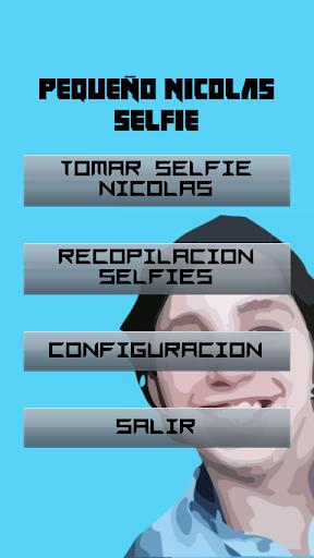 LITTLE NICOLAS SELFIE