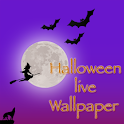 Halloween live wallpaper lite logo